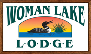 Woman Lake Lodge – Located on Woman Lake, Northern Minnesota Logo