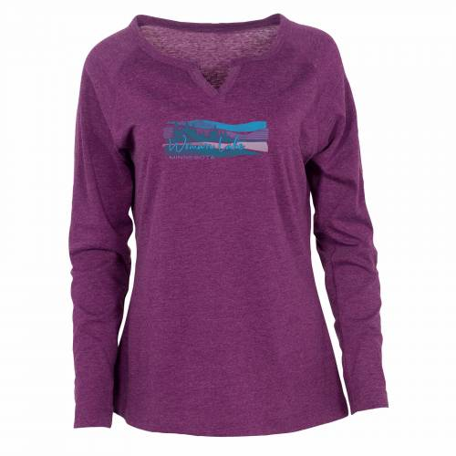 Women's Long Sleeve Y Notch Neckline Tee